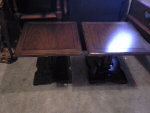 7 end tables  $30. each your choice
