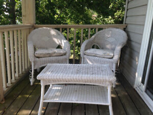 Wicker Set For Sale