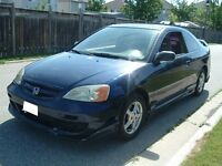 2002 Honda Civic LX Coupe 5 Speed New Engine