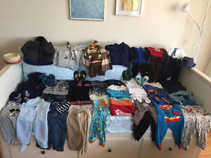 Sale 1 LOT clothing, BABY BOY 6 -12 months, 71 pieces, $75