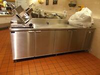 Commercial refrigeration, ovens,shelving backroom equip