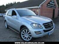 2011 61 MERCEDES-BENZ M CLASS ML300 CDI BLUEEFFICIENCY GRAND EDITION AUTO DIESE