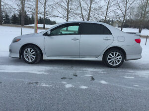2009 Toyota Corolla Sport - Remote Start, Sunroof, Alloy Wheels