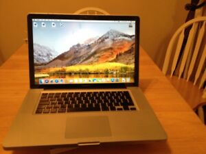 macbook-pro 15 in i5