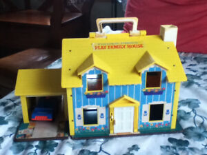 Vintage Fisher-Price Play Family House