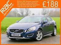 2010 Volvo S60 2.0 D3 Turbo Diesel SE 6 Speed Sat Nav Bluetooth DAB Full Leather