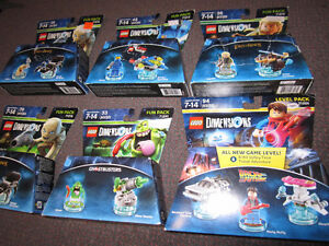 LEGO Dimensions Starter Packs and Fun Packs - on Choice