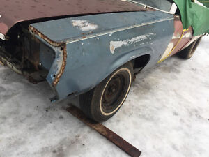 69 Cougar convertible Parting out