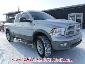 2011 DODGE RAM 1500 OUTDOORSMAN SLT QUAD CAB SWB 4WD OUTDOORSMAN