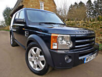 2007 LAND ROVER DISCOVERY 3 2.7 TDV6 AUTO HSE. GREAT SPEC !! P/X WELCOME