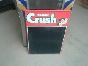 Orange Crush Chalkboard