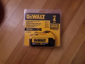 Dewalt 20 volt battery  NEW in package
