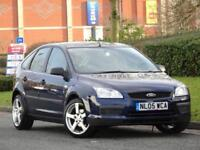 Ford Focus 1.6 2005 PETROL + JUST SERVICED + NEW MOT + WARRANTY