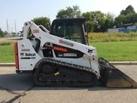 Tracked skid steer for rent