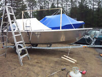 Mobile boat shrink wrap your place