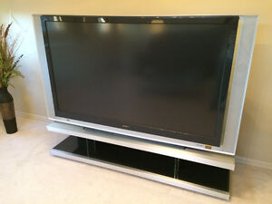 """72"""" Sony TV with Stand"""