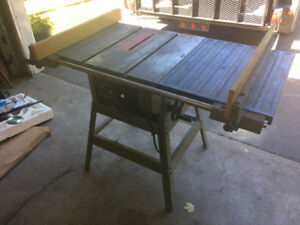 Commercial Table saw
