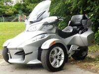 10/10 CAN-AM SPYDER RT SM5 MANUAL TRIKE ONLY 3,000 MILES