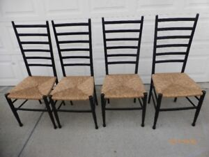 Wood & Wicker Chairs Dining Chairs