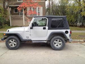 2003 Jeep TJ Sport SUV, Crossover