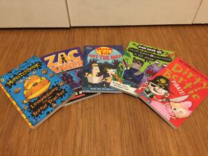 Selection of 5 ~Grade 1-3 kid's books