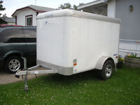 5X8 Pace American (motorcycle) Utility Trailer with Brakes