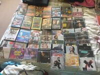 X55 DVDs, cds and video bundle