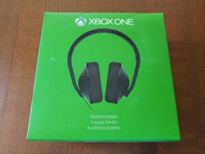 Xbox One Official Headset with Stereo Adapter - Like New