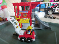 Fisher Price Rescure Ramps Fire station