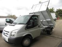FORD TRANSIT STEEL TIPPER 2014 2.2 TDCI SERVICE HISTORY WEIGHING SYSTEM VGC