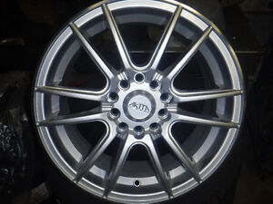 Brand new Akita Hypersilver Wheels 16""
