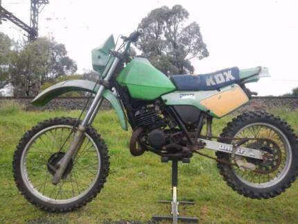 1985 KAWASAKI KDX200 Runs Fine, will Suit Vinduro! Ringwood Maroondah Area Preview