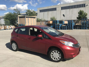 2014 Nissan Versa Note,  Automatic,  Low Km,  warranty availa