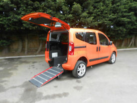 2013 Fiat Qubo 1.3Multijet 16v Wheelchair Accessible Vehicle.