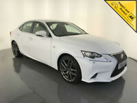 2014 64 LEXUS IS 300H F SPORT AUTOMATIC HYBRID 1 OWNER SERVICE HISTORY FINANCE