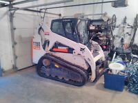Bobact snow clearing, landscaping or for rent
