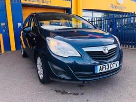 2013 Vauxhall Meriva 1.4 i 16v Exclusiv MPV 5dr Petrol Automatic (a/c) (169