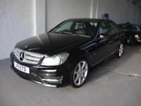 Mercedes-Benz C220 Sport 2.1CDI BlueEfficiency 7G-Tronic Auto, 2011, Black,