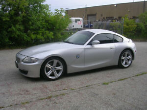 2006 BMW Z4 COUPE- 6 SPEED- M PACKAGE- 3.0- VERY RARE CAR!!!