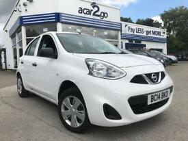 2014 Nissan MICRA VISIA Manual Hatchback