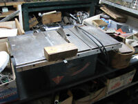table saw; scie a table