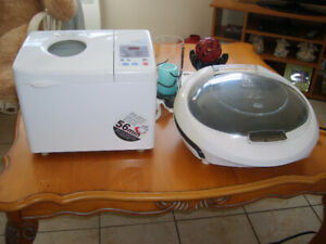 George Foreman Grill & Bread Maker
