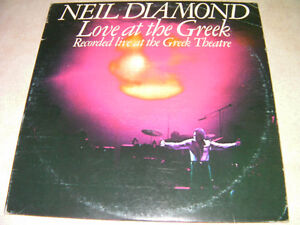 Neil Diamond on vinyl (2LPs)