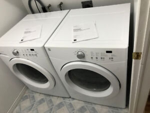 Washer and Dryer; Front Loading