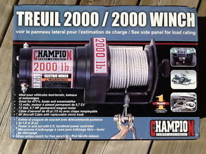NEW ELECTRIC WINCH