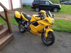 2002 Ducati ST2, Lots of Upgrades. $3900 before the snow.