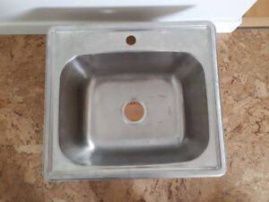 Stainless laundry sink