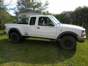 2000 Ford Ranger 4X4  stepside