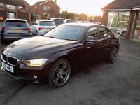 2012 12 BMW 3 SERIES 2.0 320D EFFICIENTDYNAMICS 4DR *M SPORT ALLOYS * DIESEL