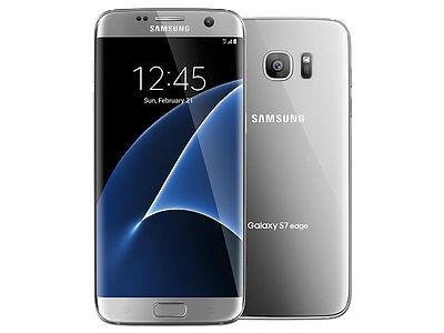 Samsung Galaxy S7 Edge | T-Mobile | Unlocked | Silver | SM-G935T |